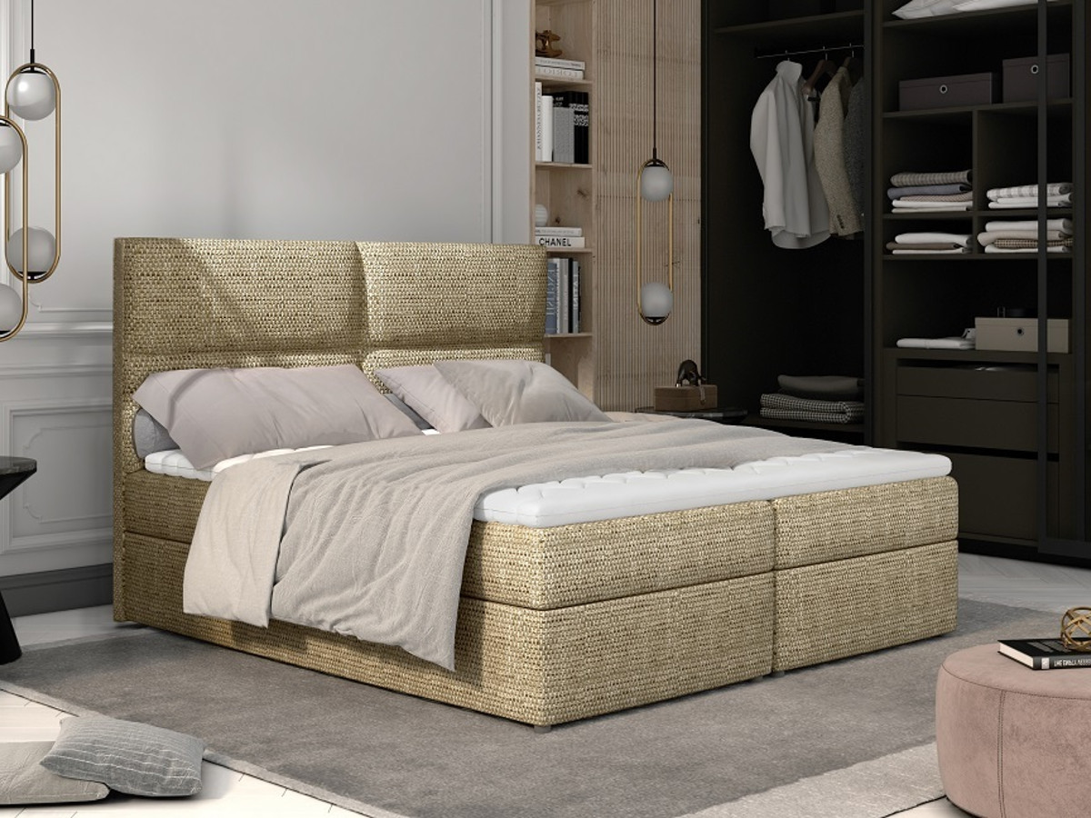 Upholstered beds in the bedroom